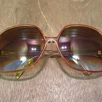 ビンテージ70's80's●レトロバタフライサングラス赤●200601n6-eygls 1970s1980sヒッピー