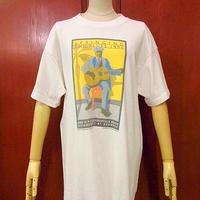 ビンテージ90's●SPRINGING THE BLUES 1994プリントTシャツ Size L●200714f1-m-tsh-ot ブルース音楽フェス古着