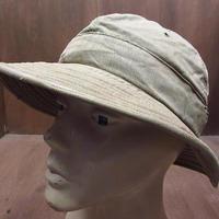 ビンテージ40's●U.S.ARMY HBTハット●210321n2-m-ht-ot 1940sミリタリー米軍実物大戦帽子ヘリンボーン