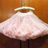 ビンテージ50's●MALCO MODES パニエスカート ピンク●210225s6-w-skt-wf レディース古着衣装レトロ