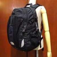 THE NORTH FACE RECONバックパック黒●210508s2-bag-bpザノースフェイスアウトドアリュックサックカバン鞄ブラックかばん古着