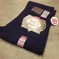 ビンテージ90's●DEADSTOCK MADE IN U.S.A. Levi's 550紺W29 L32●200724f3-m-pnt-jns-W29古着リーバイスデッドストックUSA製パンツ