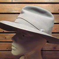 ビンテージ50's●Dobbs WESTWARDフェドラハットグレーsize 7 5/8●201113n1-m-ht-fltドブスフェルトハット帽子メンズ中折れ帽ソフト帽