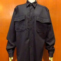 ビンテージ50's●U.S.NAVY CPOシャツ Size 15●201225s1-m-lssh-mlt USNミリタリーウールシャツ長袖米軍実物古着