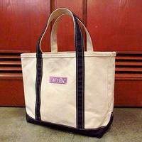 L.L.Bean キャンバストートバッグ紺 M●200702s8-bag-tt エルエルビーントートカバンアウトドア