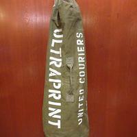 ビンテージ70's●ステンシル入りキャンバスダッフルバッグ●210523f8-bag-hndハンドバッグミリタリーボストンバッグかばん