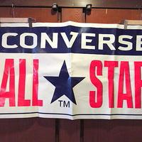 ビンテージ●CONVERSE ALL STARストアバナーsize 約61cm×約110.5cm●201117s7-signコンバースオールスターサインポスターディスプレイ