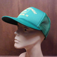 ビンテージ80's●DEADSTOCK JOHN DEERE スナップバックメッシュキャップ●210313n7-m-cp-bb NOSジョンディア帽子メンズ