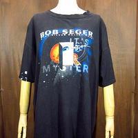 ビンテージ90's●BOB SEGER It's a Mystery ツアーTシャツ黒 Size XL●200718n2-m-tsh-bn ボブシーガーバンドTシャツ半袖古着