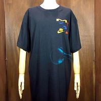 ビンテージ90's●NIKE マイケルジョーダン両面プリントTシャツ黒 Size XL●200812n1-m-tsh-ot JORDANバスケナイキ古着