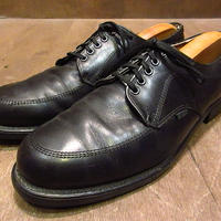ビンテージ90's●MASON USPSポストマンシューズ黒10 1/2 B●201216n7-m-dshs-27cm 1990s革靴ドレスシューズUチップ