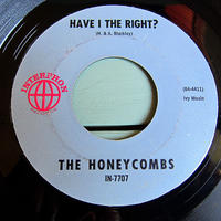 THE HONEYCOMBS●HAVE I THE RIGHT?/PLEASE DON'T PRETEND AGAIN INTERPHON IN-7707●210523t2-rcd-7-rk