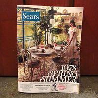 ビンテージ70's●Sears 1978年Spring/Summerカタログ●200701s7-otclct 1970sシアーズ春夏ファッション流行資料本