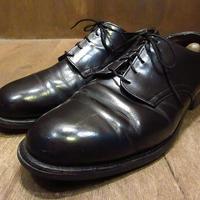 ビンテージ80's●U.S.NAVYサービスシューズ●210316n3-m-dshs-28cm 1980sミリタリー米軍実物USN海軍革靴ドレスシューズ