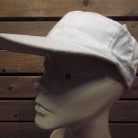 ビンテージ40's50's●フィッシングキャップ生成りsize 6 7/8●200710n1-m-cp-bb帽子古着メンズUSA野球帽