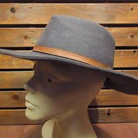 ビンテージ●MADE IN U.S.A.ウールフェドラハットsize XL●210226n3-m-ht-fltソフト帽フェルトハットUSA製メンズ帽子中折れ帽