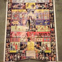 ビンテージ●インディアンポスター 約80.5cm×約62cm●200610s8-pst ネイティブアメリカン先住民部族民族USA雑貨