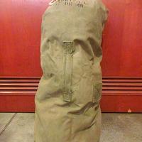 ビンテージ40's50's●ミリタリーステンシル入りランドリーバッグ●200918s8-bag-ot 米軍実物ダッフルバッグバラックバッグカバン