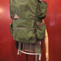 ビンテージ60's●KELTYナイロンフレームパック深緑●201127f8-bag-bpバックパックアウトドア登山リュックサック