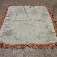 ビンテージ40's50's●BERMUDAスーベニアピローケース●210220f6-otclctクッションカバー枕カバー小物バミューダ