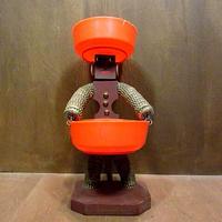 ビンテージ●ボトルキャップドール●210217n6-obj 雑貨トレイ置物人形おもちゃトイレトロ