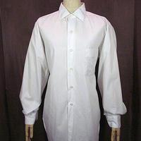 ビンテージ60's70's●ARROWコットンドレスシャツ白size 15-33●200925n7-m-lssh-drs古着アロートップスUSAコットンホワイトメンズ長袖シャツ