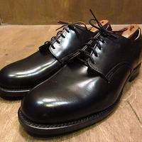 ビンテージ70's80's●DEADSTOCK U.S.NAVYレザーソールサービスシューズ7 1/2 W●210107n5-m-dshs-26cm 1970s1980sデッドストック革靴USN