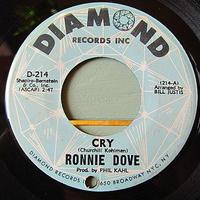 RONNIE DOVE●CRY/AUTUMN RHAPSODY DIAMOND D-214●201209t1-rcd-7-rkレコード7インチ米盤US盤66年45 60's