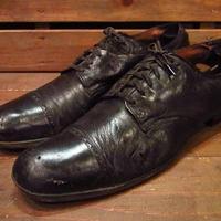 ビンテージ30's40's●Foot Joyストレートチップシューズ黒11A●210407s13-m-dshs-285cm 1930s1940sキャップトゥドレスシューズ革靴
