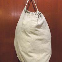 ビンテージ40's●ミリタリーバラックバッグ●210124s9-bag-ot米軍実物ランドリーバッグ大容量カバンコットンショルダーバッグダッフル