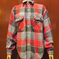 ビンテージ60's●BIG MACチェックヘビーネルシャツsize M●201205s4-m-lssh-nlメンズ長袖シャツコットントップスビッグマックフランネル