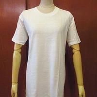ビンテージ70's●DEADSTOCKコットンTシャツ白●200607f3-m-tsh-pl古着半袖シャツデッドストックホワイト