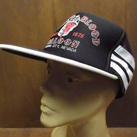 DEADSTOCK NISSIN BUCKET OF BLOOD SALOONスナップバックメッシュキャップ●210604n6-m-cp-bbデッドストック帽子メンズ