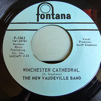 THE NEW VAUDEVILLE BAND●WINCHESTER CATHEDRAL/WAIT FOR ME BABY Fontana F-1562●210523t1-rcd-7-rkレコード