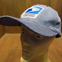 ビンテージ●UNITED STATE POSTAL SERVICEスナップバックキャップ●201123n1-m-cp-bb USPSトラッカーキャップ野球帽