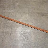 ビンテージ●SHORELINE SAVINGSウッドスケール●210324s8-otclct 定規ものさしアンティーク木製アメリカン雑貨アドバタイジング