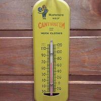 ビンテージ~50's●CAN'T BUST'EMアドバタイジングサーモメーター●201109n4-otclct 40s1940s1950sキャントバステム温度計