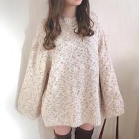 mosaic fairy knit (ivory)
