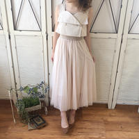 trench tulle onepiece