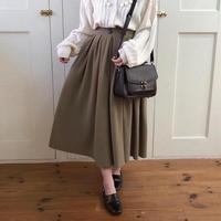 green tea wrap skirt