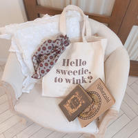 to wink? tote bag