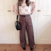 chocolate slit pants