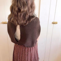 backless autumn waffle (chocolate)