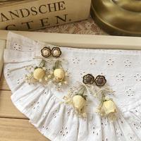 mini white rose gyp pierce