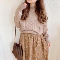 design lace knit (moca)