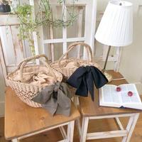 boat ribbon basket (brown)