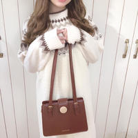 <OUTLET>nordic choco vanilla knit