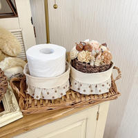 toilet roll basket 2SET