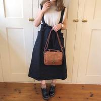 sweet waist jumper skirt (black)