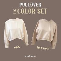 pullover 2色セット